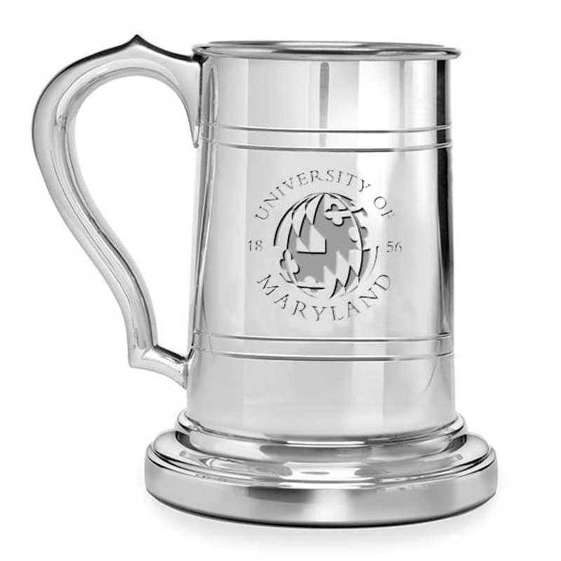 615789599104: Maryland Pewter Stein by M.LaHart & Co.