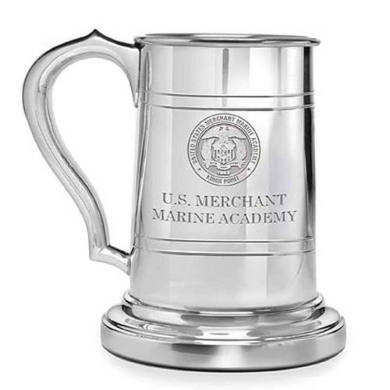 615789613305: Merchant Marine Academy Pewter Stein by M.LaHart & Co.