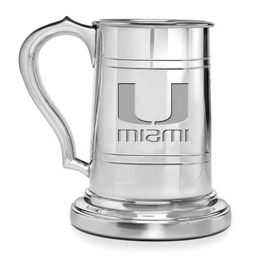 615789625131: Miami Pewter Stein by M.LaHart & Co.