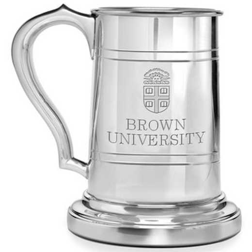 615789671237: Brown Pewter Stein by M.LaHart & Co.
