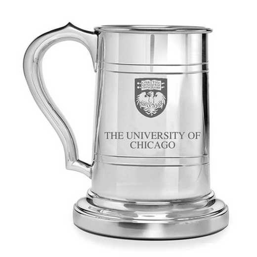 615789675815: Chicago Pewter Stein by M.LaHart & Co.