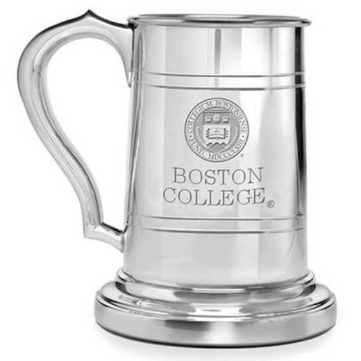 615789687863: Boston College Pewter Stein by M.LaHart & Co.