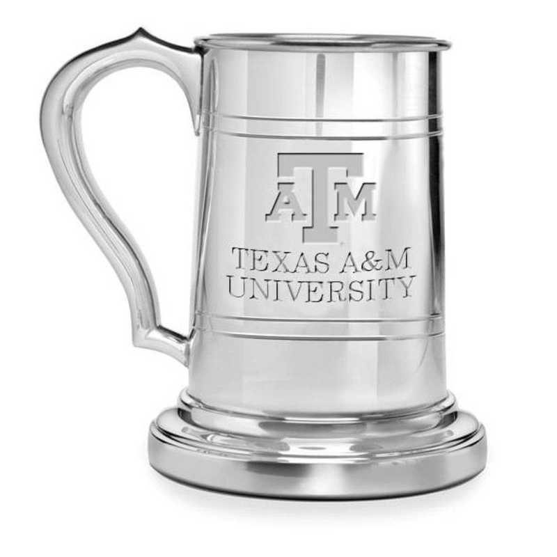 615789749219: Texas A&M Pewter Stein by M.LaHart & Co.
