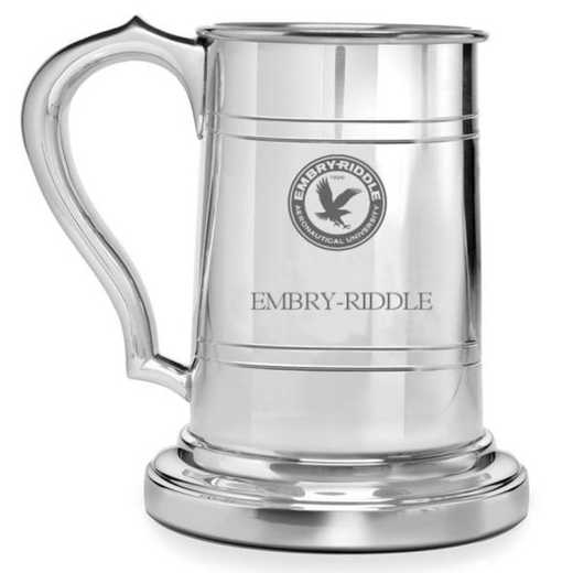 615789821489: Embry-Riddle Pewter Stein by M.LaHart & Co.