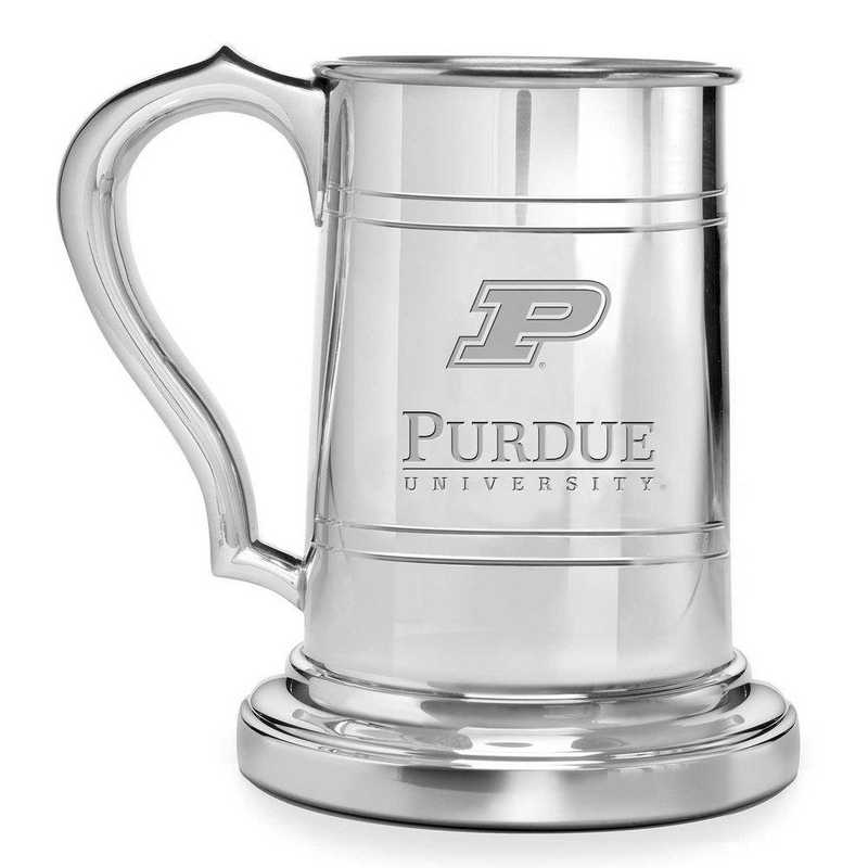 615789852568: Purdue University Pewter Stein by M.LaHart & Co.