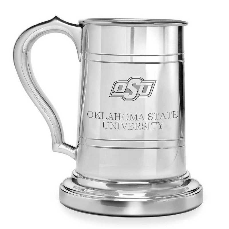 615789898634: Oklahoma State University Pewter Stein by M.LaHart & Co.