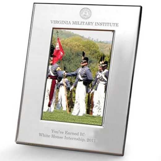 615789820048: VMI Polished Pewter 5x7 Picture Frame