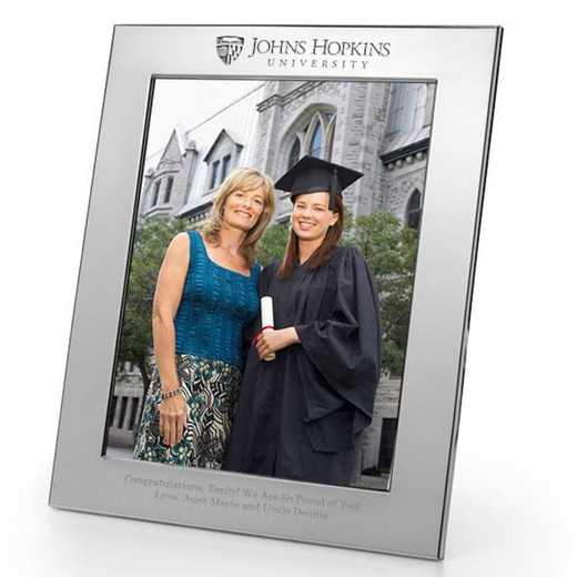 615789151449: Johns Hopkins Polished Pewter 8x10 Picture Frame