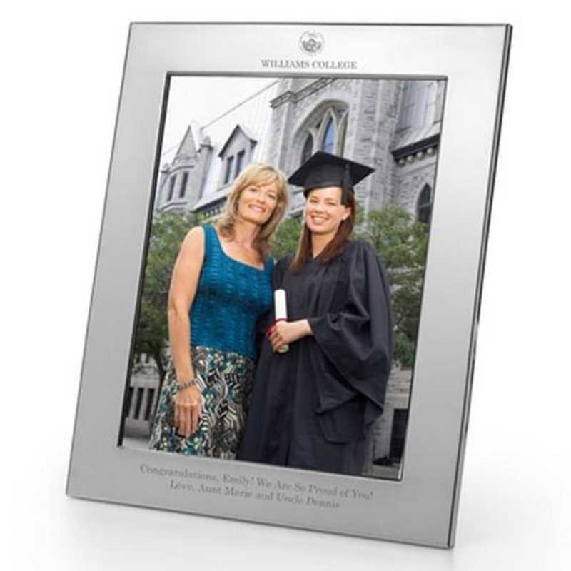 615789166122: Williams College Polished Pewter 8x10 Picture Frame