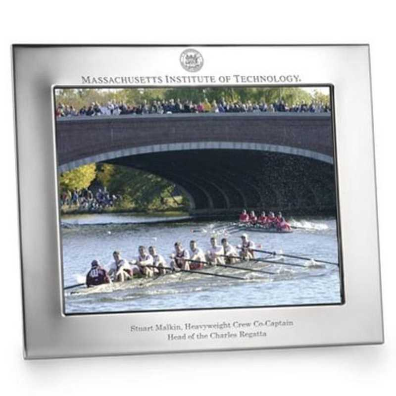 615789245759: Polished Pewter 8x10 Picture Frame (Landscape)