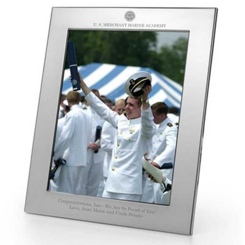 615789723059: Merchant Marine Academy Polished Pewter 8x10 Picture Frame