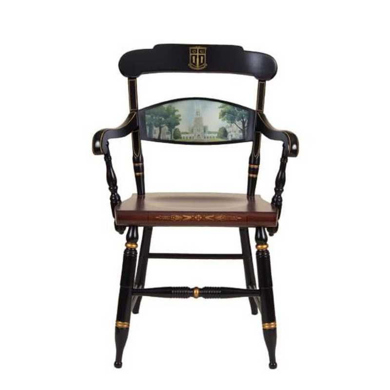 615789196396: Hand-painted Duke University Campus Chair by Hitchcock