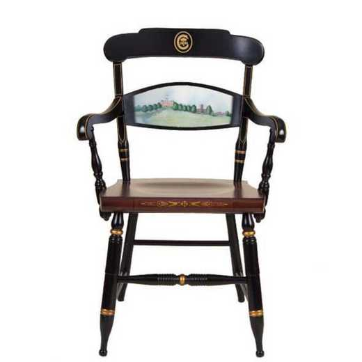 615789313793: Hand-painted Clemson Campus Chair by Hitchcock