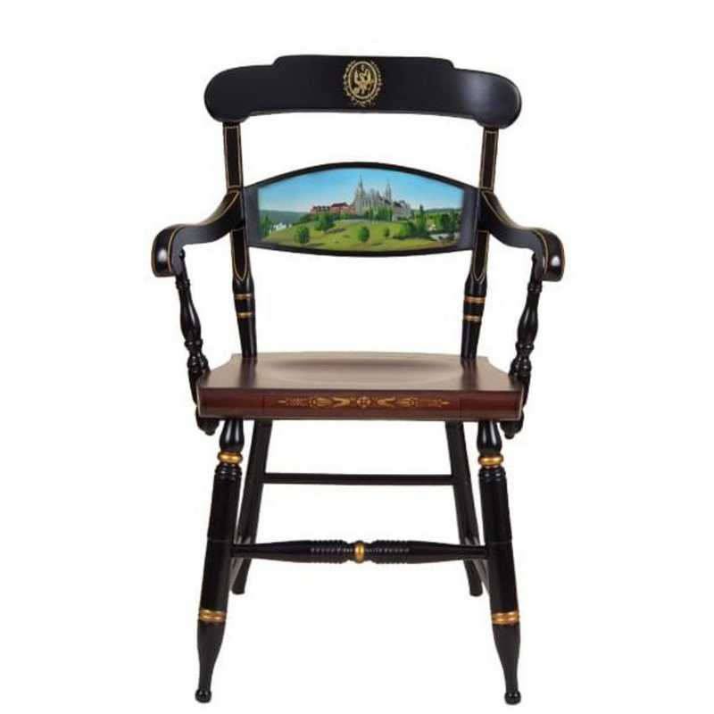 615789372066: Hand-painted Georgetown Univ Campus Chair by Hitchcock