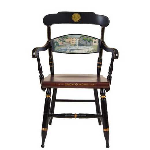 615789940425: Hand-painted US Merchant Marine Academy Campus Chair