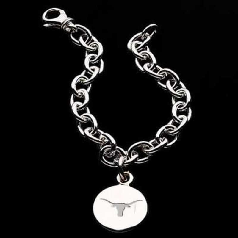 615789052029: Texas Sterling Silver Charm Bracelet