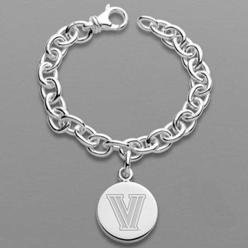 615789298311: Villanova Sterling Silver Charm Bracelet