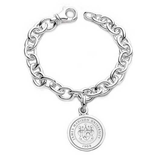 615789853367: James Madison Sterling Silver Charm Bracelet