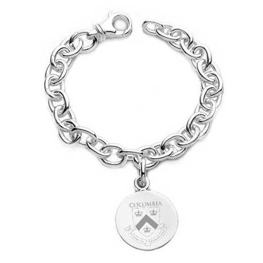 615789910329: Columbia Sterling Silver Charm Bracelet