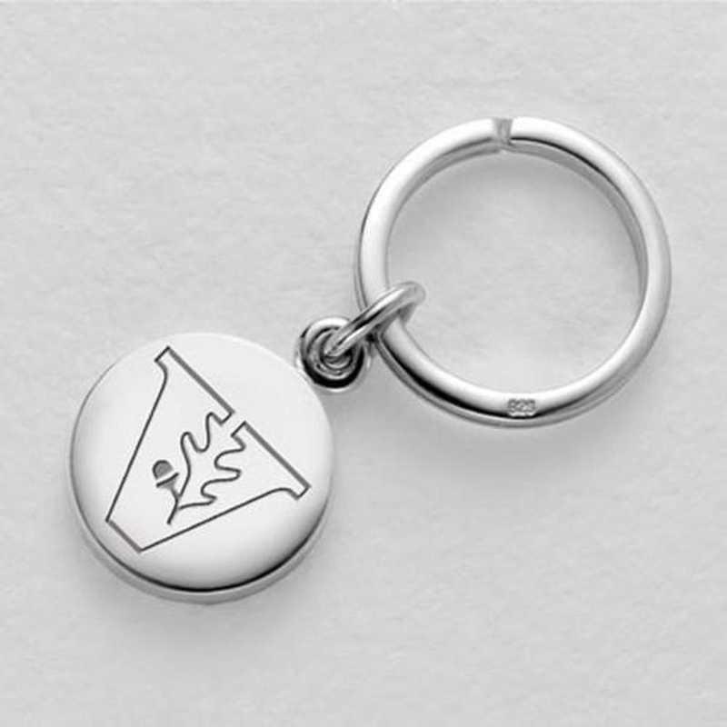 615789456193: Vanderbilt Sterling Silver Insignia Key Ring