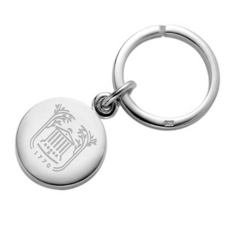 615789820611: College of Charleston Sterling Silver Insignia Key Ring