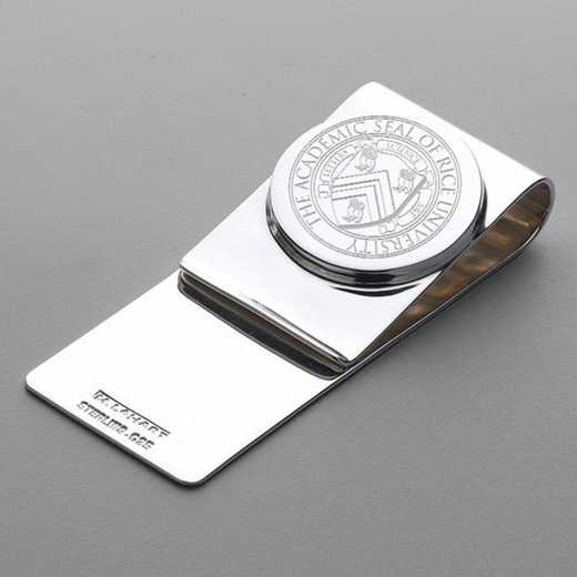 615789233305: Rice University Sterling Silver Money Clip