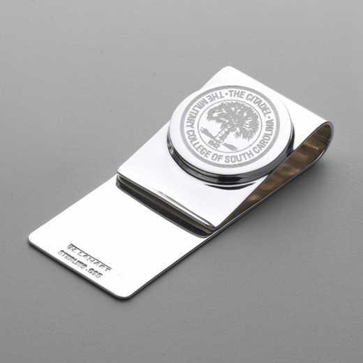615789488033: Citadel Sterling Silver Money Clip