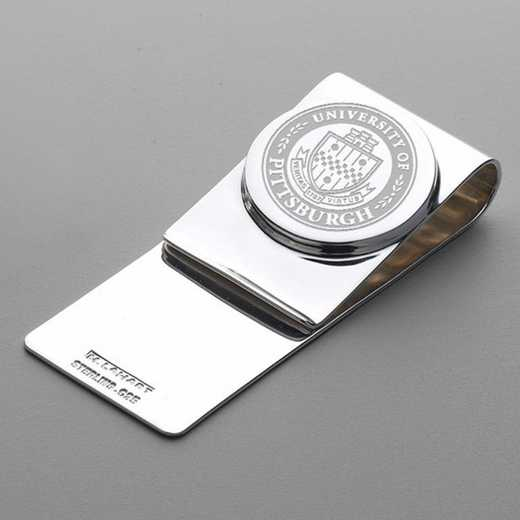 615789900825: Pittsburgh Sterling Silver Money Clip