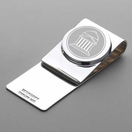 615789910657: SMU Sterling Silver Money Clip