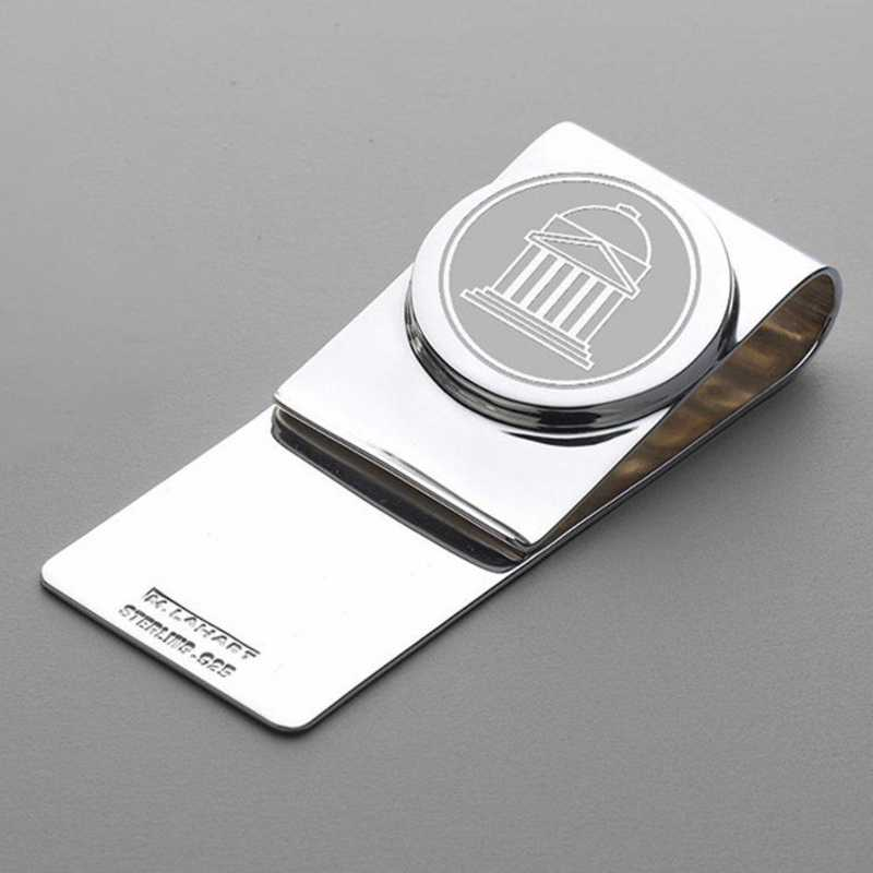 615789910657: SMU Sterling Silver Money Clip