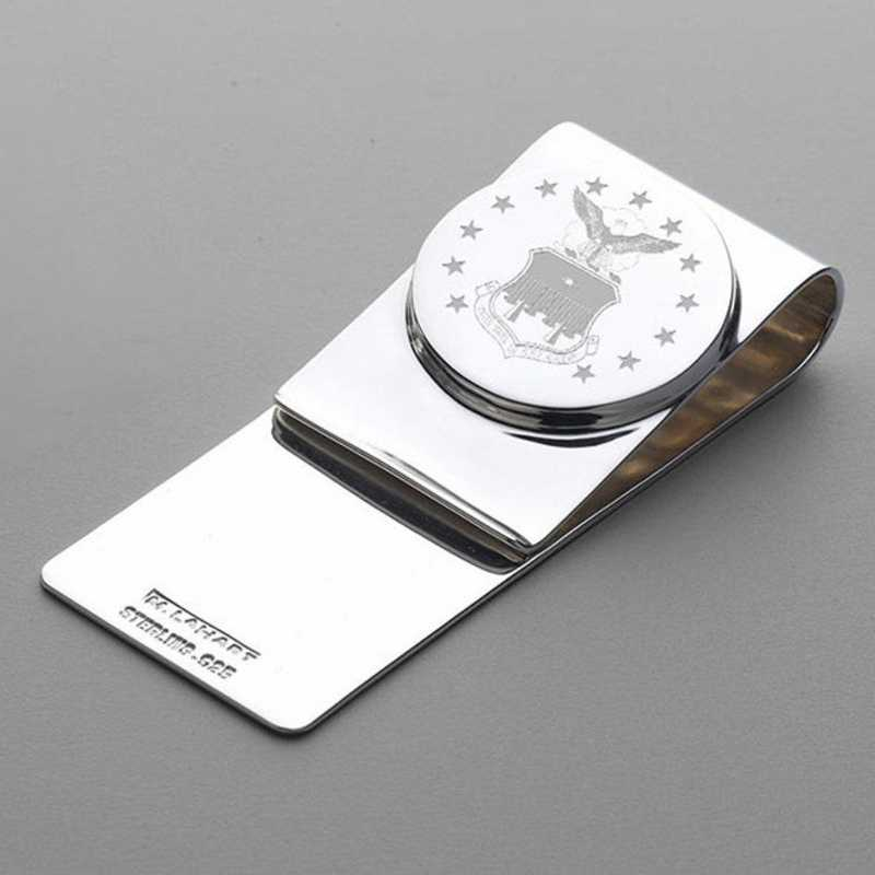 615789914990: Air Force Academy Sterling Money Clip