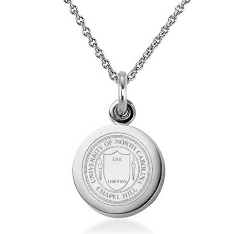 615789116752: University of North Carolina Necklace with Charm in SS
