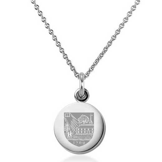 615789240402: Dartmouth College Necklace with Charm in SS
