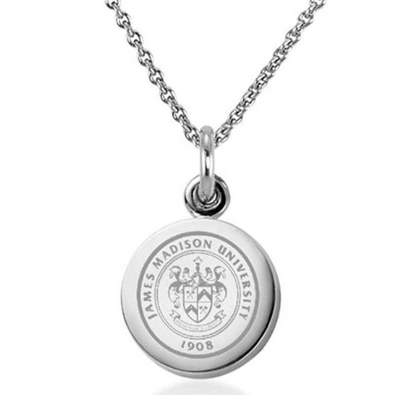615789775300: James Madison University Necklace with Charm in SS
