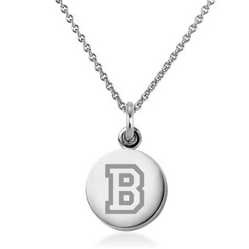 615789880240: Bucknell University Necklace with Charm in SS