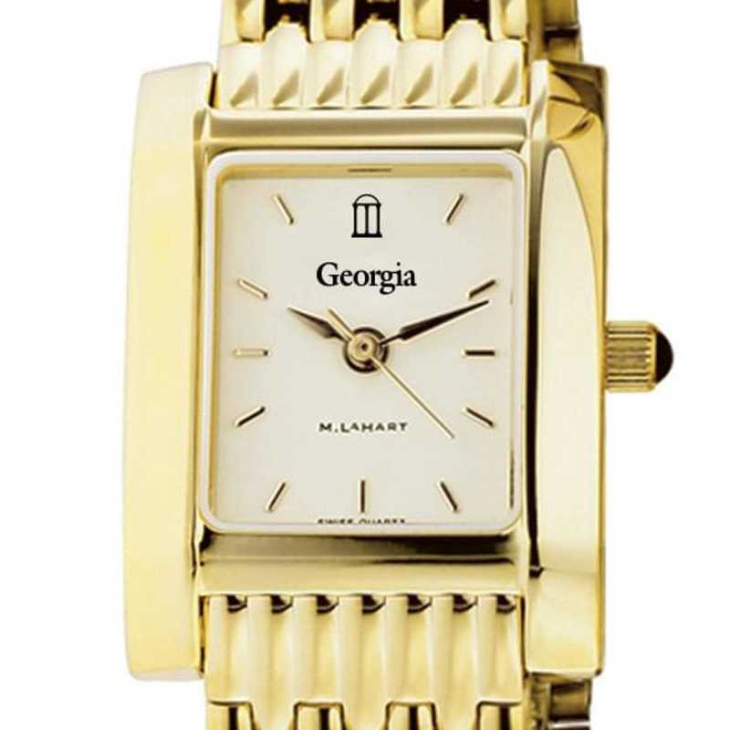 615789235026: Georgia Women's Gold Quad W/ Bracelet