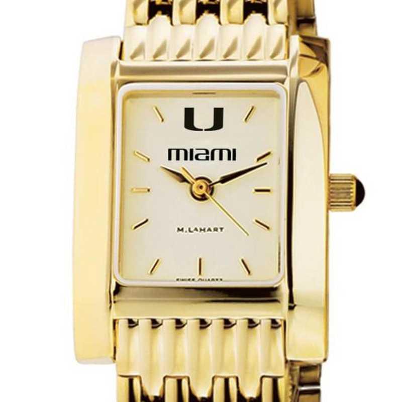 615789528968: Miami Women's Gold Quad W/ Bracelet