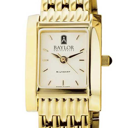 615789574347: Baylor Women's Gold Quad W/ Bracelet