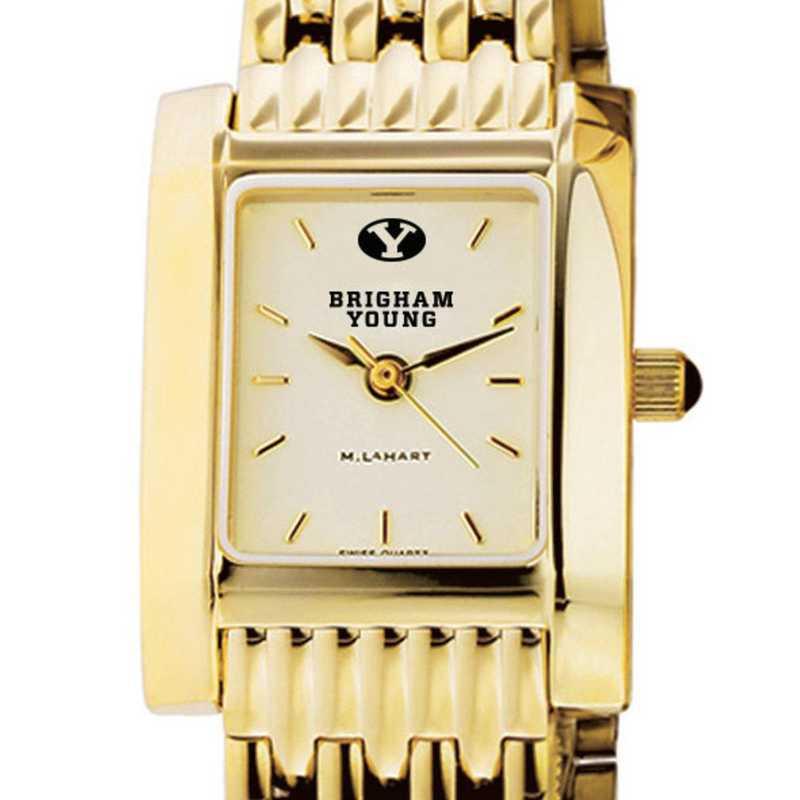 615789798057: Brigham Young University Women's Gold Quad W/ Bracelet