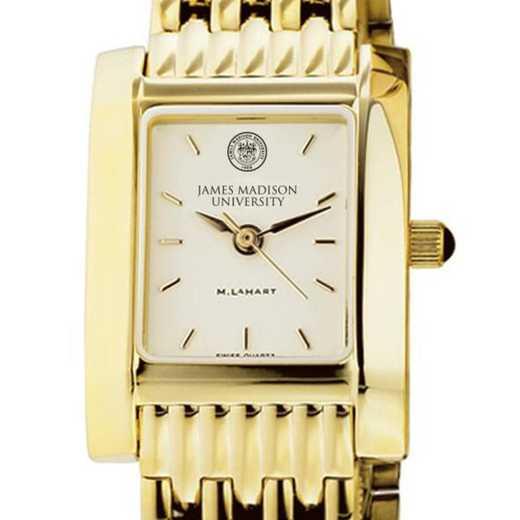 615789819592: James Madison Women's Gold Quad W/ Bracelet