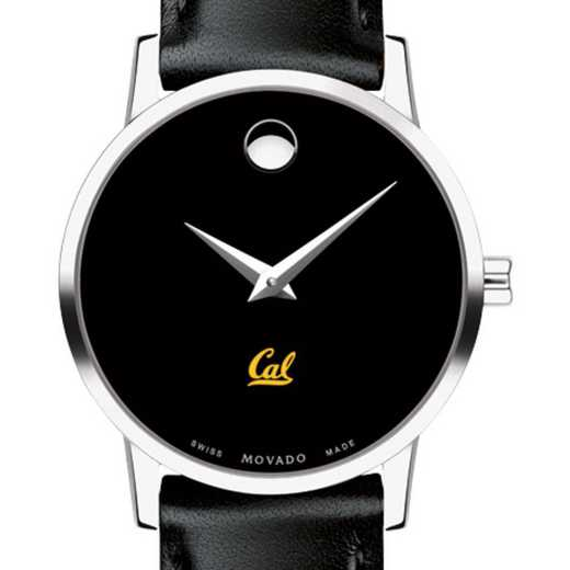 615789649694: Berkeley Women's Movado Museum w/ Leather Strap