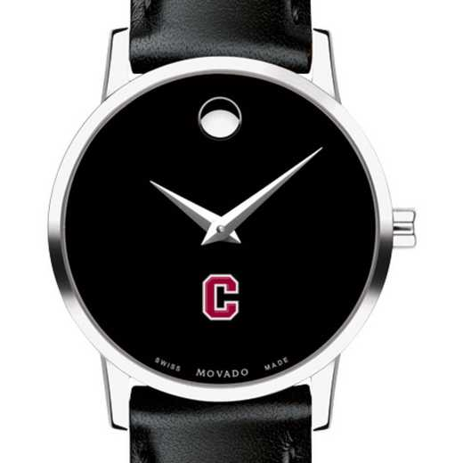 615789660422: Colgate Univ Women's Movado Museum w/ Leather Strap
