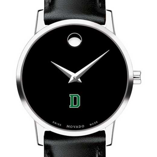 615789775003: Dartmouth College Women's Movado Museum w/ Leather Strap
