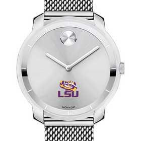 615789030997: Louisiana State Uni Women's Movado Stainless Bold 36