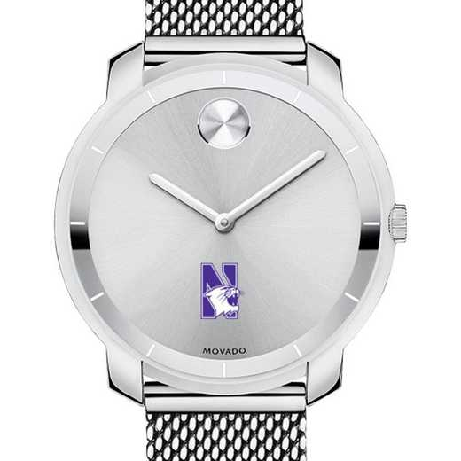 615789043393: Northwestern U Women's Movado Stainless Bold 36