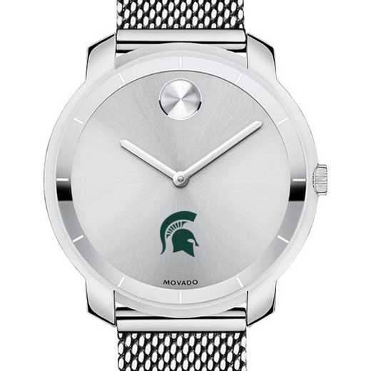 615789068419: Michigan State University Women's Movado Stainless Bold 36
