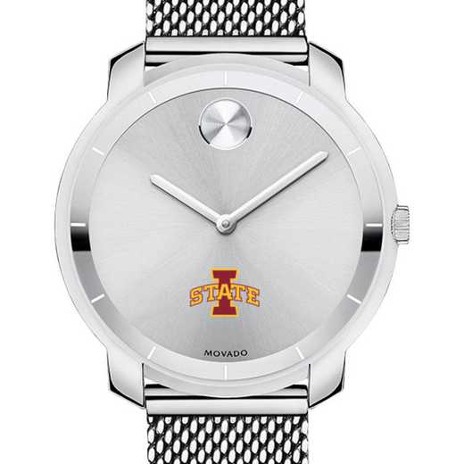 615789069966: Iowa State Univ Women's Movado Stainless Bold 36