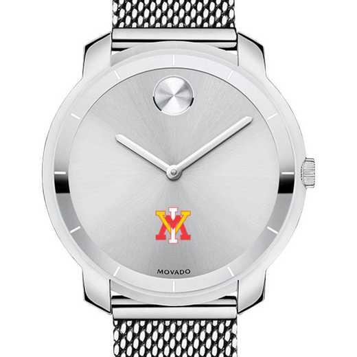 615789095392: VA Military Institute Women's Movado Stainless Bold 36