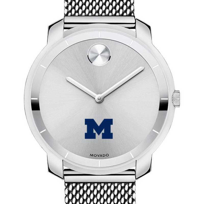 615789113478: University of Michigan Women's Movado Stainless Bold 36