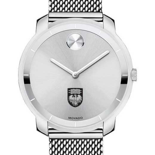 615789202172: Univ of Chicago Women's Movado Stainless Bold 36